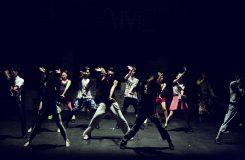 Uppvisning med dansare